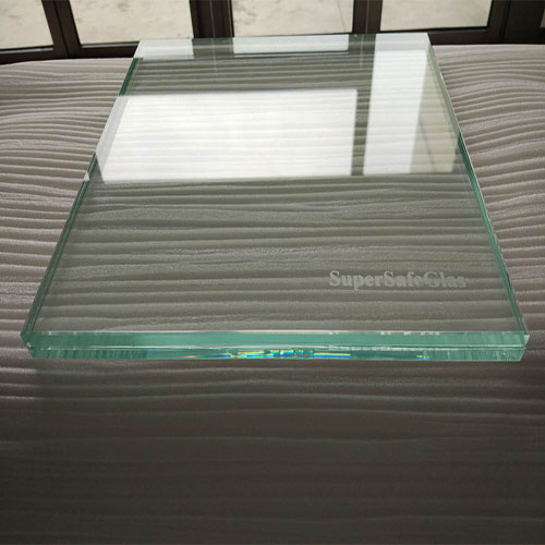 Glass product display